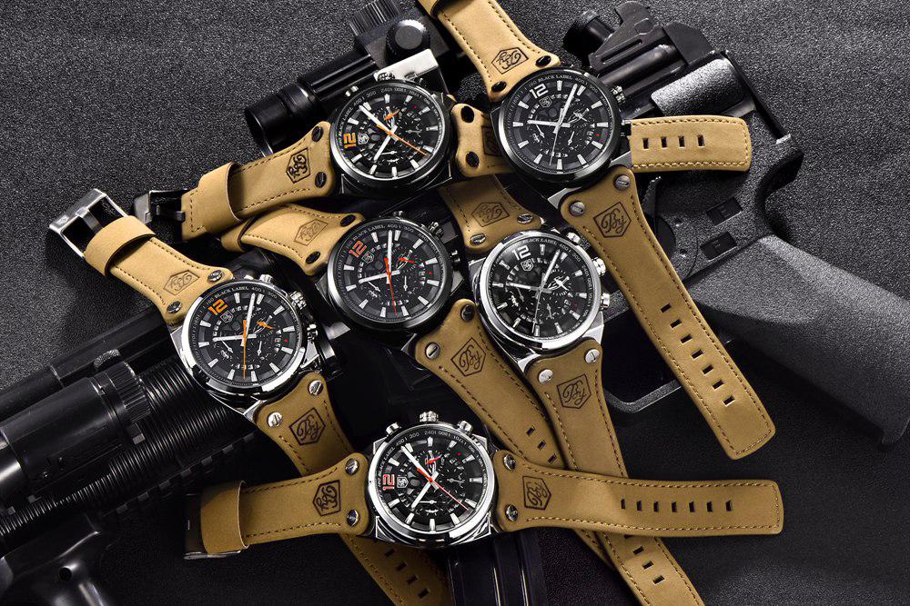 6dfecec67f7 BENYAR Sport Men Watches Skeleton Military Quartz Man Outdoor Big Dial Watch  Army Male Clock